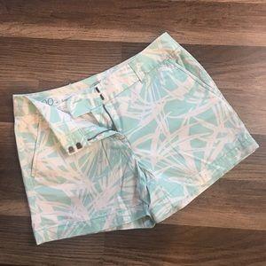 "Loft size 00 - 4"" shorts"